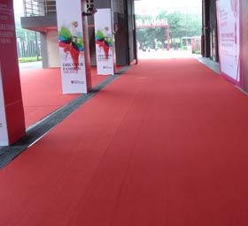 Plain Exhibition Carpet