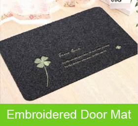 Embroidered Door Mat/ Printed Entrance Mat