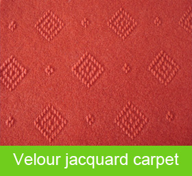 Velour Jacquard Carpet