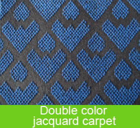 Double Color Jacquard Carpet